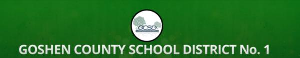 Goshen County School District #1 Logo