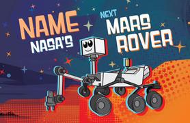 Name the Mars Rover cartoon logo
