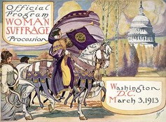 Women's suffrage poster from 1913