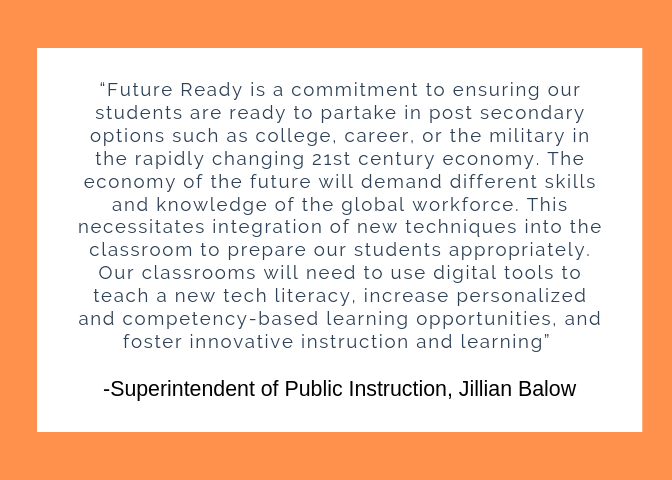 Quote from Superintendent Jillian Balow