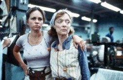 Image of Sally Field and Barbara Baxley from the film Norma Rae