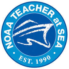 Logo for NOAA Teacher at Sea program