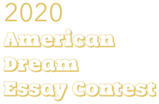 American Dream Essay Contest logo