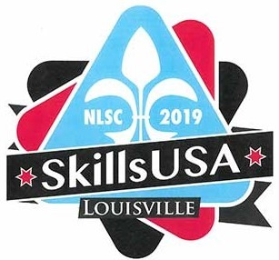 Skills USA student-designed logo for 2019 convention