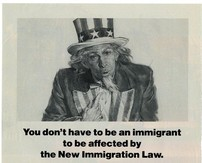 Image of Uncle Sam from an early 20th century poster to immigrants