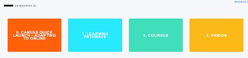 Training Service Portal Menu Options