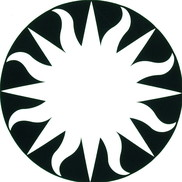 Sun-like logo for the Smithsonian Institute
