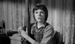 Scout Finch from the movie To Kill A Mockingbird