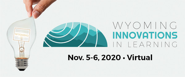 Wyoming Innovations in Learning logo. Nov. 5-6, 2020, Virtual