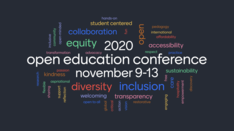 logo for open education conference