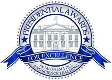 Logo for Presidential Award for Excellence in Science and Math Teaching