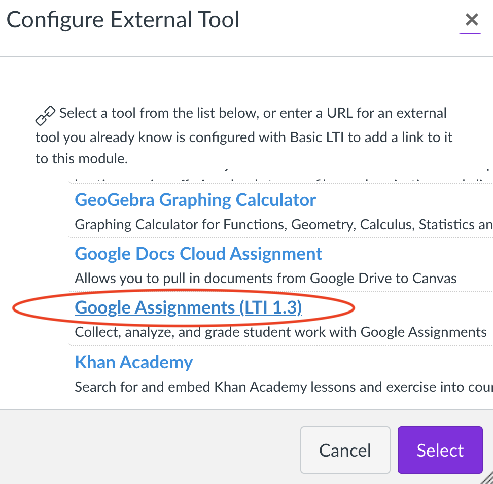 Configure External Tool Screenshot