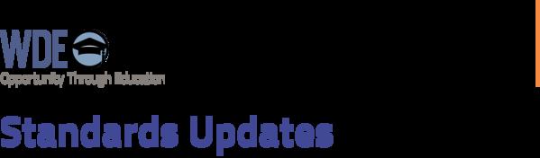 Standards Updates masthead