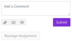 Reassign Assignment Screenshot