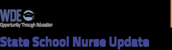 State School Nurse Update Header
