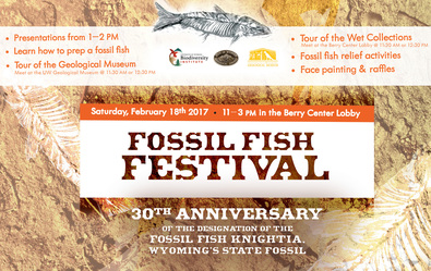 Fossil Fish Festival is Feb. 18, 11 a.m.-3 p.m.