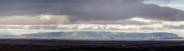 Sheep Mountain near Laramie, Wyoming, photo by Robert Kirkwood