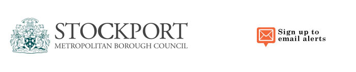 Stockport Metropolitan Borough Council banner image