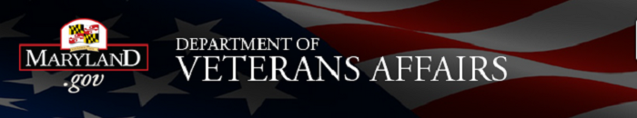 Maryland Department of Veterans Affairs banner