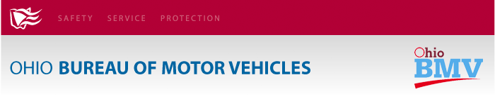 Ohio Bureau of Motor Vehicles' Alerts