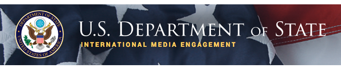 Department of State Office of International Media Engagement