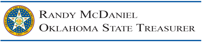 State Treasurer Randy McDaniel logo