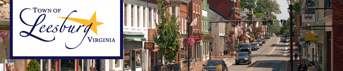South King Street in downtown Leesburg